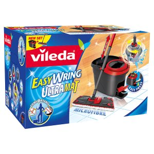 Vileda Easy Wring Ultramat (plochý mop + kbelík)