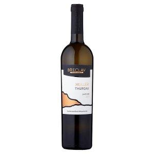 Rodinné Vinařství Břeclav Muller Thurgau jakostní víno s přívlastkem pozdní sběr bílé suché 0,75l