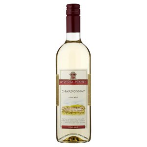 Zámecké Vinařství Bzenec Original Classic Chardonnay víno bílé 75cl