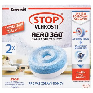 Ceresit Stop Vlhkosti Aero 360° náhradní tablety 2 x 450g