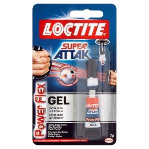 Loctite Super Attak Power flex gel univerzální sekundové lepidlo 3g