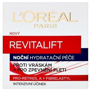 L'oréal Paris Revitalift Noční hydratační péče proti vráskám + pro zpevňení pleti 50ml
