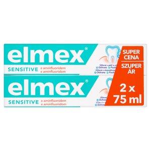 Elmex Zubní pasta 2 x 75ml, vybrané druhy