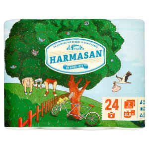 Harmasan Toaletní papír 2 vrstvy 24 ks