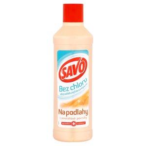 Savo Na podlahy Laminátové povrchy dezinfekční přípravek bez chloru 1l