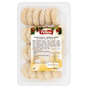Penam Sváteční pečivo - vanilkové rohlíčky 200g