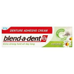 Blend-A-Dent Natural fixační krém na zubní náhradu extra silný 47g