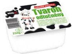 Milkin tvaroh 250g, vybrané druhy