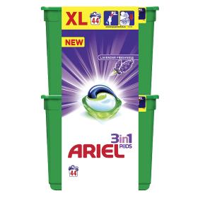 Ariel gelové kapsle 44 dávek, vybrané druhy