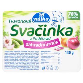 Milko Svačinka 130g, vybrané druhy