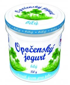 Opočenský jogurt bílý 150 g