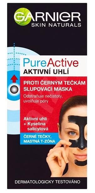 Garnier Pure Active slupovací maska proti černým tečkám 50 ml
