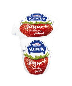 Kunín jogurt s kousky ovoce 150g, vybrané druhy