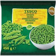 Tesco Hrášek extra jemný 450 g