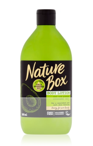 Nature Box tělové mléko 385 ml, vybrané druhy
