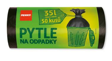 Penny Pytle na odpadky 35l 50ks