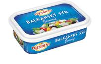 Président Balkánský sýr 150 g