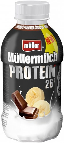 Müllermilch Protein 400g, vybrané druhy
