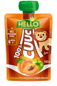 Hello Cuuc ovocná přesnídávka 100g, vybrané druhy