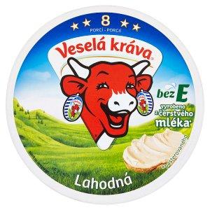 Veselá Kráva Lahodná tavený sýr 8 ks 120g