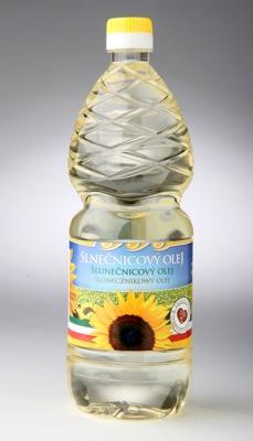 Slunečnicový olej 100% přírodní