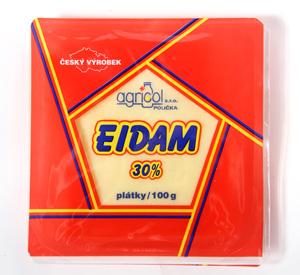 Agricol Eidam 30% plátky