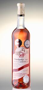 Frankovka rosé pozdní sběr 2011