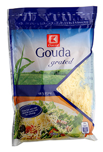 K-Classic Gouda strouhaný sýr 48%