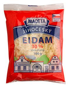 Madeta Jihočeský Eidam 30% strouhaný