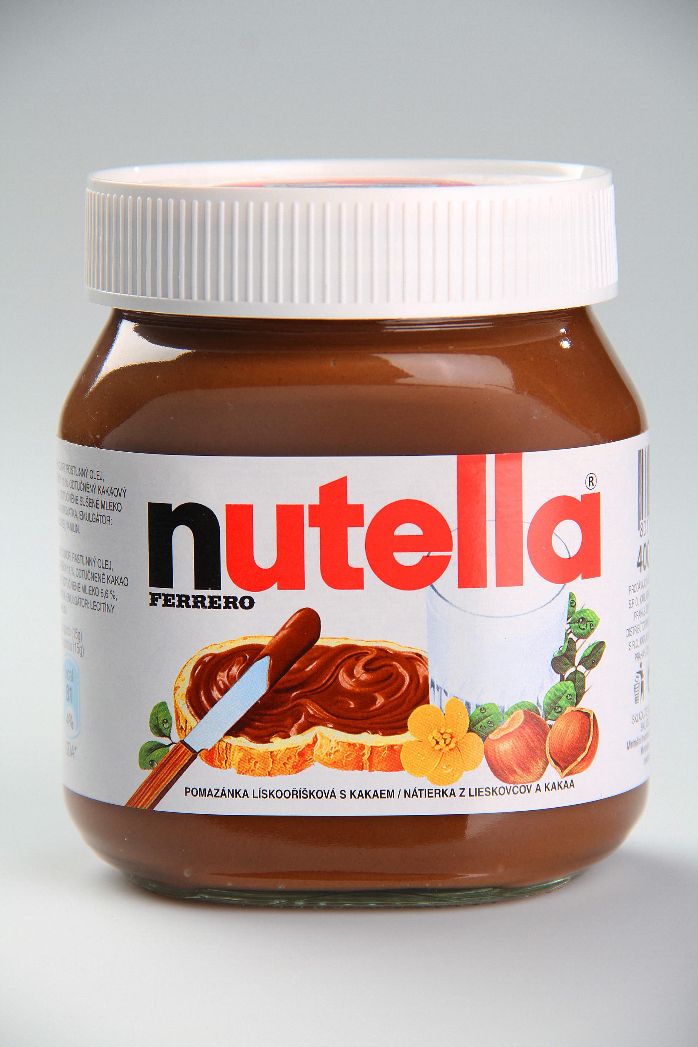 Nutella Pomazánka lískooříšková s kakaem