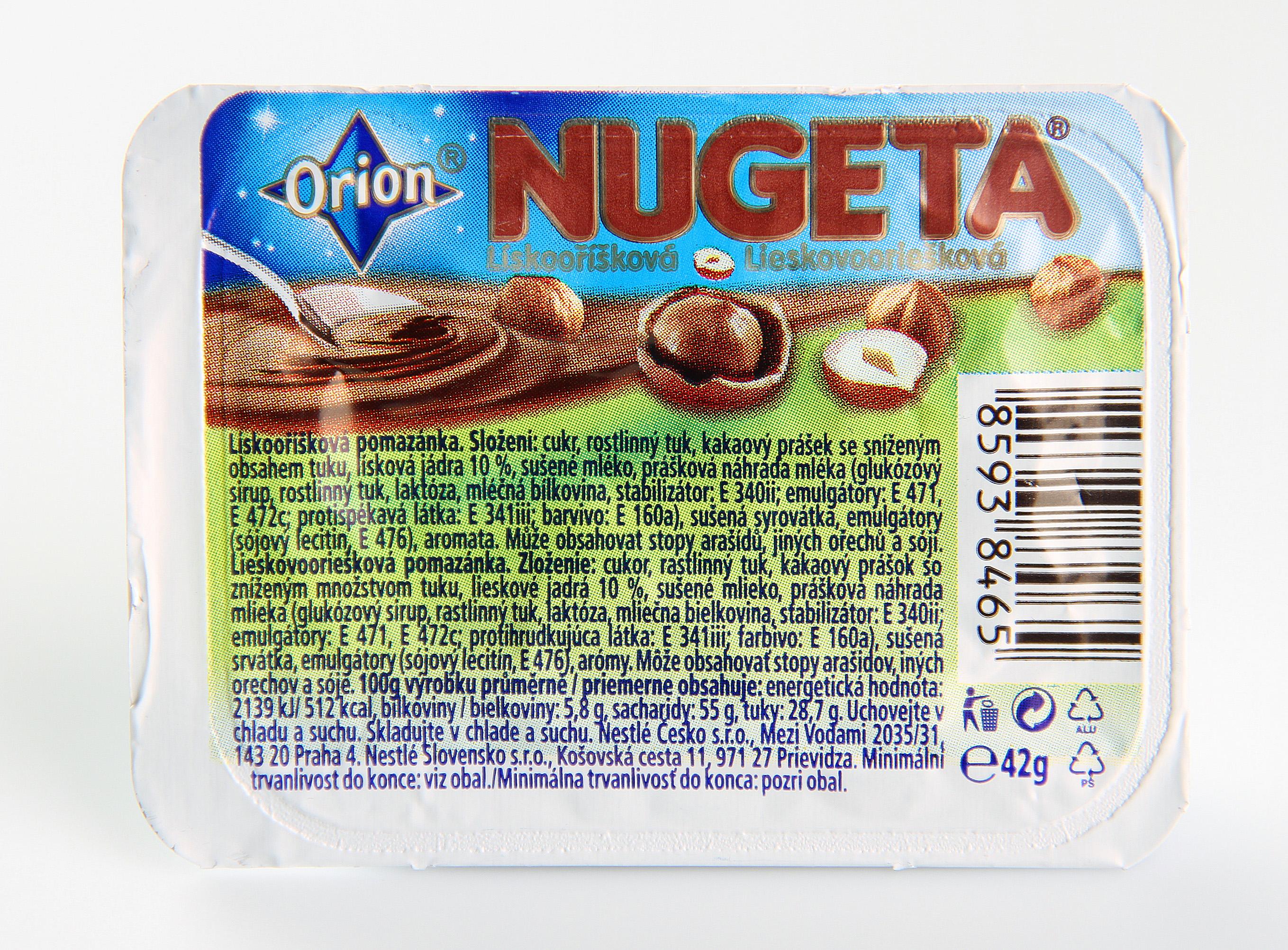 Orion Nugeta lískooříšková