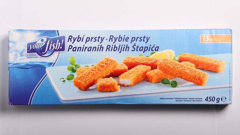 Your fish! Rybí prsty