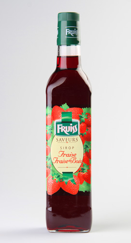 Fruiss Sirop, Fraise, Fraise des Bois