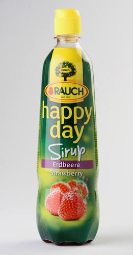 RAUCH happy day Sirup Strawberry