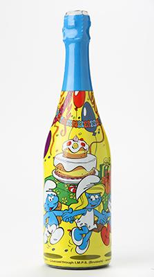 Šmoulové Dětský perlivý nápoj