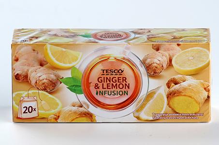 Tesco Ginger & Lemon