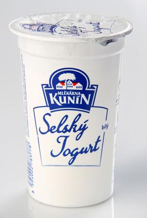 Kunín Selský jogurt bílý