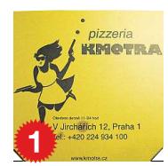 Pizza Kmotra, 537 g