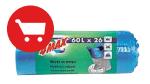 4MAX, pytle na odpad modré