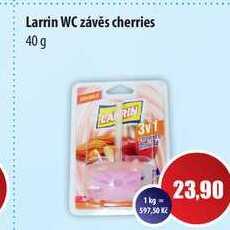 Larrin WC závěs cherries 40 g
