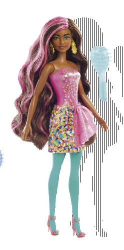 Panenka Barbie Color Reveal